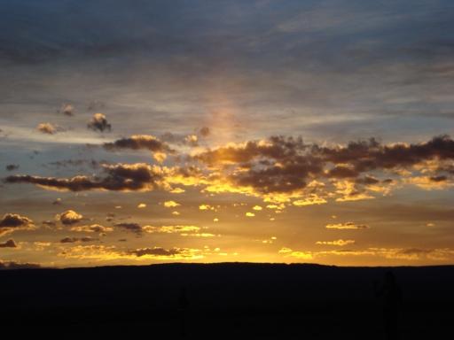 O pôr-do-sol mais livre do universo