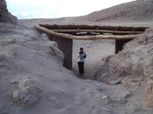 Acampamento mineiro histórico - Valle de La Luna